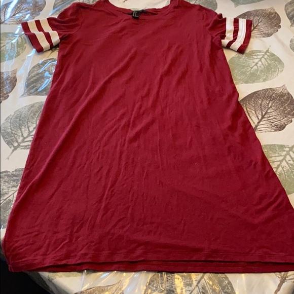 Forever 21 Dresses & Skirts - Forever 21 baseball T dress